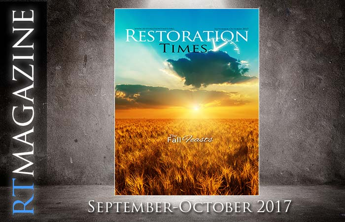 September-October Restoration Times Magazine