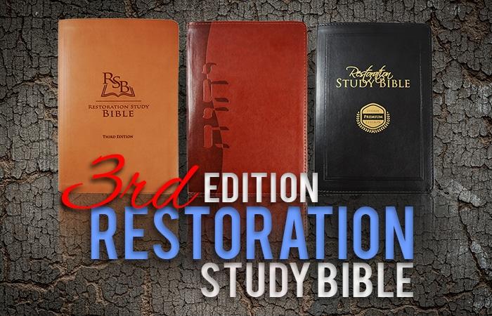 Restoration Study Bible Reviews