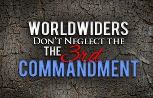 Worldwide Church of God Third Commandment