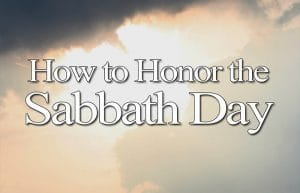 the sabbath day; the sabbath rest; is sabbath sunday; is sabbath saturday; should we rest on sunday