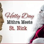 Mithras and Saint Nick Santa claus
