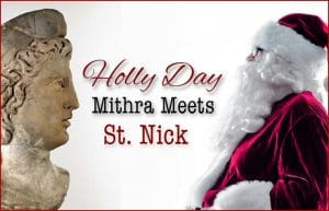 Mithras and Saint Nick Santa claus