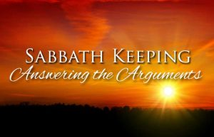 Sabbath keeping