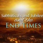 sabbatical jubilee end times