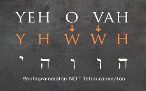 yehovah, pentagrammaton, jehovah