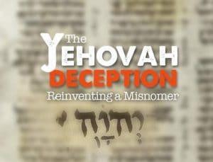 Yehovah Booklet