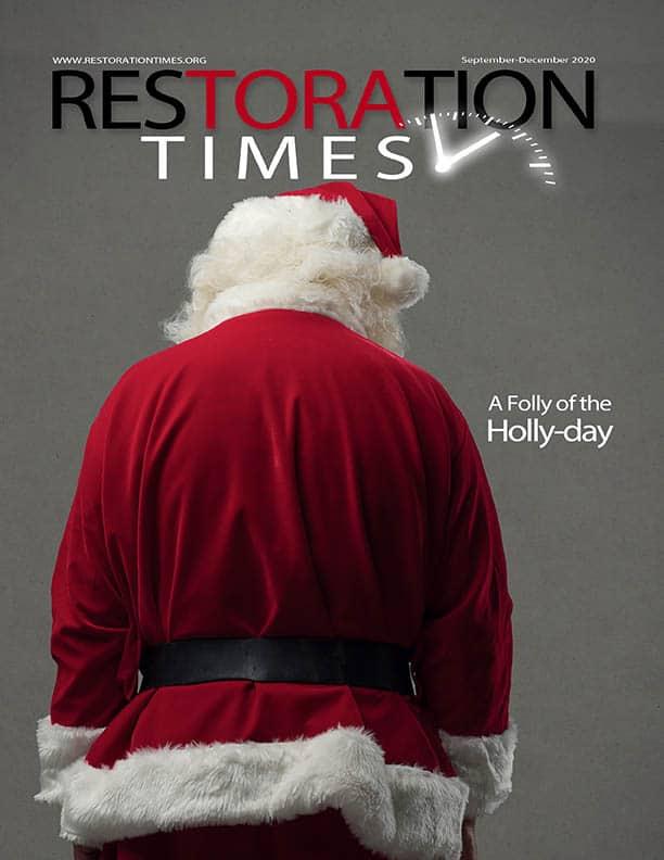 Restoration Times Sept-Dec